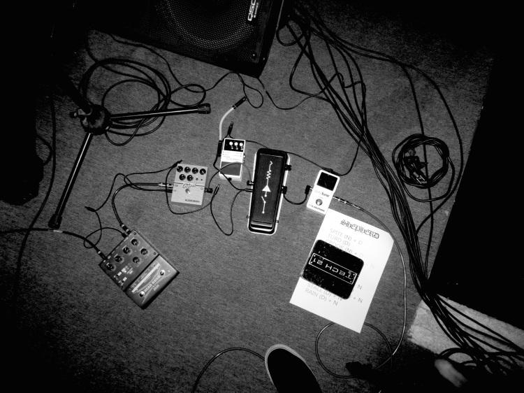 Shepherd guitar rig